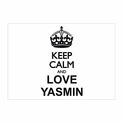 idakoos-keep-calm-and-love-yasmin-female-names-sticker-pack-x4