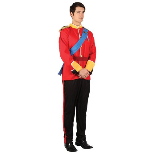 Wicked Toy Soldier Mens Fancy Dress Costume Adults