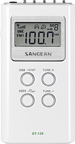 Sangean America FM-Stereo / AM Pocket Receiver DT-120
