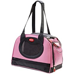 Argo by Teafco Petaboard Style B Airline Approved Pet Carrier, Petal Pink, Medium
