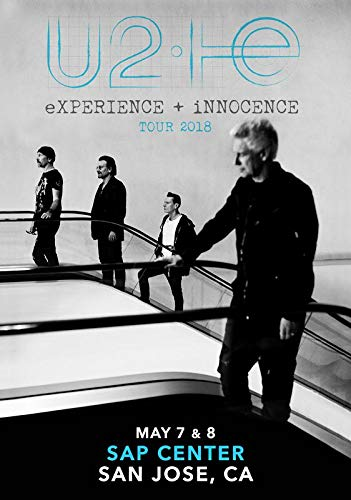 Used, U2: Experience + Innocence 2018 Tour: SAP Center San for sale  Delivered anywhere in Canada