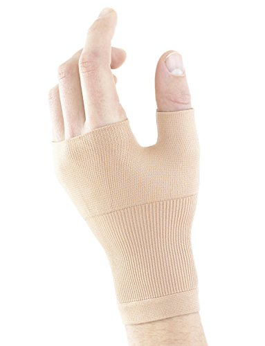 Neo G Wrist and Thumb Support - Ideal For Arthritis, Joint Pain, Tendonitis, Sprains, Hand Instability, Sports - Multi Zone Compression Sleeve - Airflow - Class 1 Medical Device - Medium - Beige