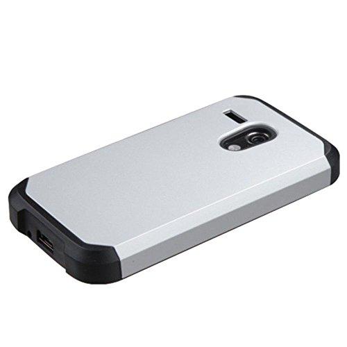 Mybat asmyna astronoot Téléphone Coque de Protection pour Motorola Moto G–Emballage–Argent/Noir