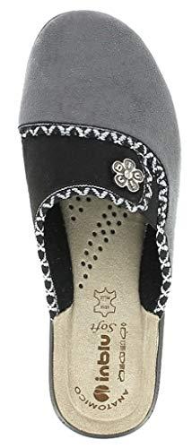 Da Cf Pantofole 21 Grigio Ciabatte Art Donna Invernali Inblu YAtFqwRR