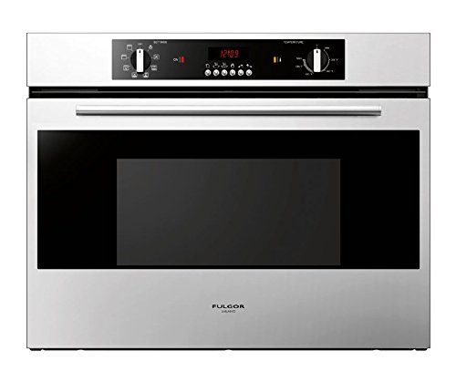 Fulgor Milano F1SM30S1 100 Series Convection Wall Oven, 30″, Stainless Steel