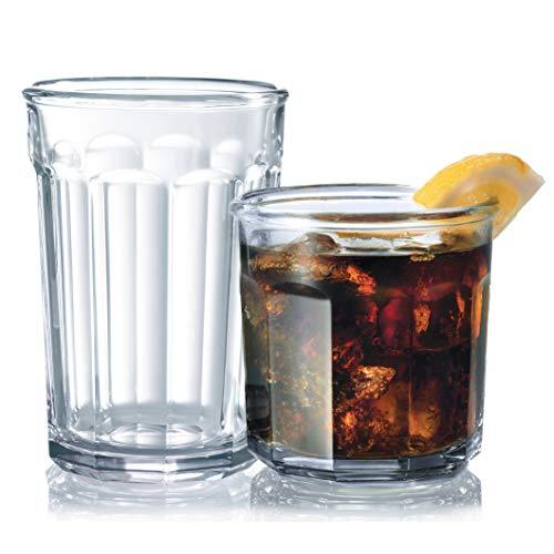 Luminarc 16-Piece Working Glass Drinkware Set