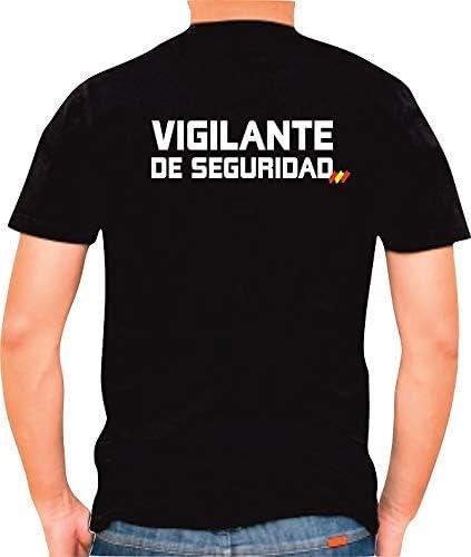 Alpimara Camiseta Vigilante DE Seguridad: Amazon.es: Ropa y accesorios