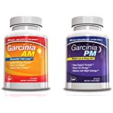 Garcina A.M. + P.M. 24 Hr Weight Loss Supplement & Sleep Aid Kit, 30 Day Supply, Best Weight Loss Stack