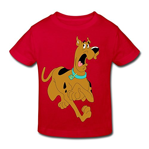 Scooby Doo Shirts For Toddlers (Kids Toddler Scooby Doo Dog Little Boy's Girl's T Shirt Red Size 4)