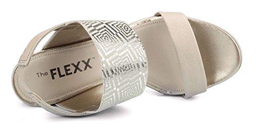Semelle The Femme Compensée A Flexx Beige Sandale Give Lot xqwv1Xpq