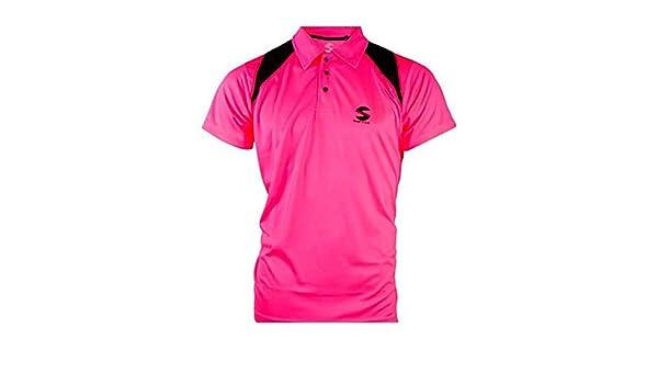 Polo Softee Reflex Rosa Fluor Negro: Amazon.es: Deportes y aire libre