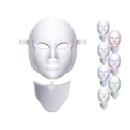 7 Colors Led Light Photon Neon-glowing Facial Light Skin Rejuvenation Led Face Mask Care Treatment Beauty