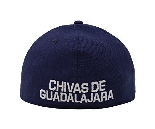 Amazon.com: New Era 39Thirty Hat Chivas De Guadalajara Oficial Liga MX Soccer Flex Navy Blue Cap: Clothing