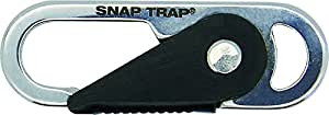 CONNECT True Utility Stainless Steel Snaptrap Micro - Silver