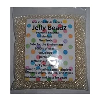 Amazon Com Clearly Clear Jellybeadz Clear 2 5 3 0 Mm Water Beads Centerpiece Wedding Tower