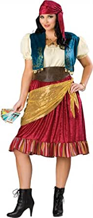 Disfraces Incharacter IC15014-3XL para mujer gitana Plus Size Costume 3XL