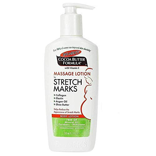Palmer's Cocoa Butter Formula Massage Lotion For Stretch Marks with Vitamin E, Collagen and Elastin, and Shea Butter, 8.5-Ounce Bottles (Pack of 6)