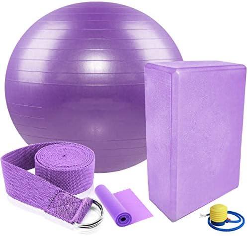 EMYSSA Yoga Equipment Set 5PC