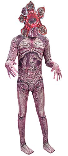 ugoccam Halloween Cosplay Zentai Monster Jumpsuit Bodysuit