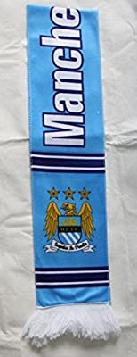 Manchester City - Premium Fan Made Polyester Scarf, Ships from USA MCFC