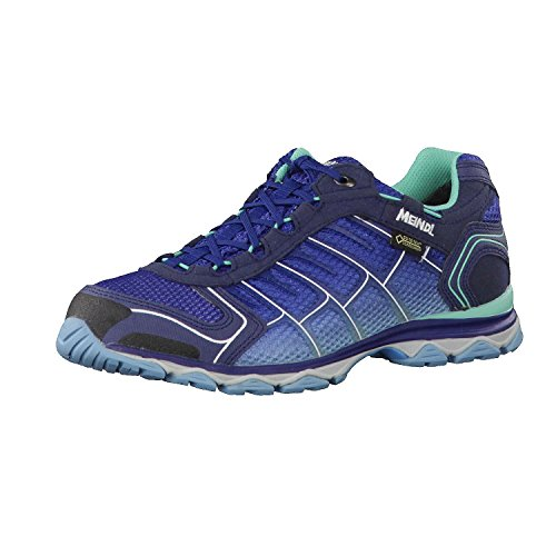 Meindl Shoes X-so 30 Lady Gtx Surround - Nero / Turchese Azzurro / Benzina