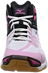 Mizuno Volleyball Shoes Wave Lightning Z Mid (US 8.5 (26.5cm))