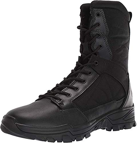 "5.1100000000000003 Men's Fast-Tac 8"" Military and Tactical Boot, Black, 10.5 Regular US"