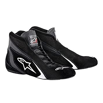 Alpinestars Mens Race Driving Shoes and Boot Black, Size 5