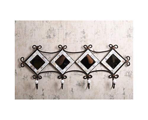 Ho,ney - Coat Rack Coat Rack - Wrought Iron Coat Rack Creative Decoration Hook Wall Hanging Porch Door Wall Decoration Personality Simple Home Coat Rack