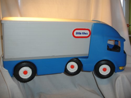 little tikes tractor trailer - 1
