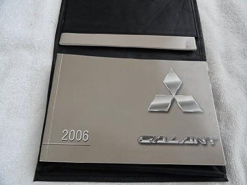 2006 mitsubishi galant owners manual mitsubishi amazon com books rh amazon com 2009 Mitsubishi Galant 1990 Mitsubishi Galant
