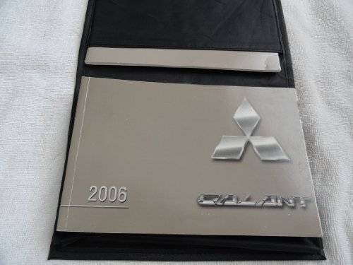 2006 Mitsubishi Galant owners manual
