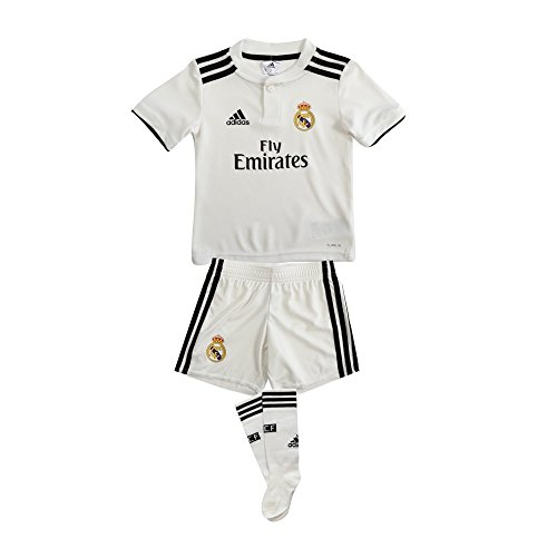 - adidas Real Madrid Home Mini Kit 2018/19 (5T) White, Black