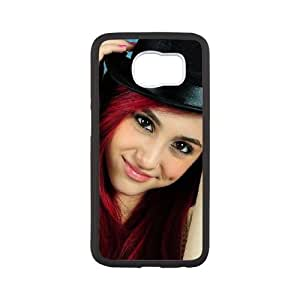 Ariana Grande For Samsung Galaxy S6 Cell Phone Case White ADS077267
