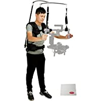 LIOKEN LAING V10 Waterproof of Stabilizer Vest 6-13kg Loading Capacity w/ Climbing Carabiner F DJI Ronin & DSLR 3Axis Handheld Gimbal Stabilizer System