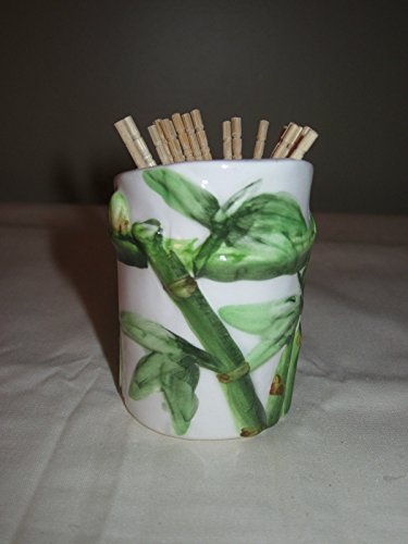 BAMBOO Toothpick Holder *NEW*!