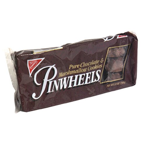 Pinwheels Chocolate Marshmallow Cookies, 12-Ounce Packages (Pack of 12) by Pinwheels
