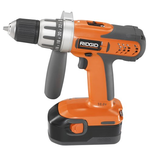 Factory-Reconditioned RIDGID R84001 18-Volt Cordless 2-Speed Drill