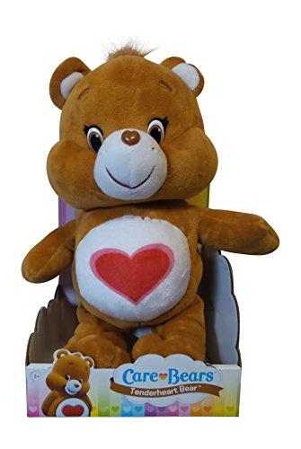 """[Just Play Care Bears Tenderheart Bear Plush, 13"""" Plush Bear] (Care Bear Plush)"""