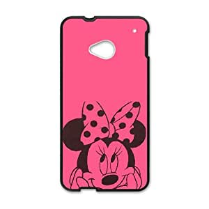 HTC One M7 Cell Phone Case Black Disney Mickey Mouse Minnie Mouse lhad