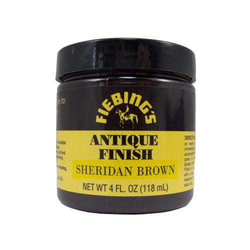(Fiebing's Sheridan Brown Antique Finish Paste, 4oz)