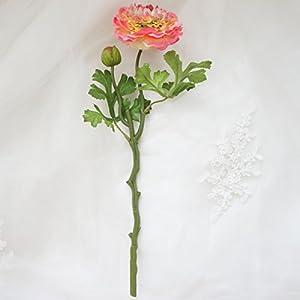 Lily Garden 6 Stems Silk Ranunculus Artificial Flowers 4