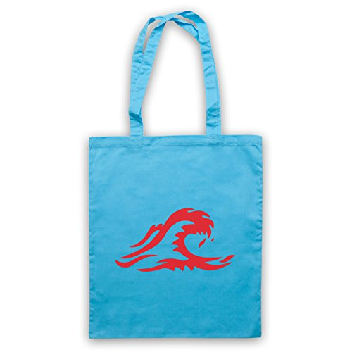 Inspire Logo Par The D'emballage Clair Wave Sac Die Welle Officieux Bleu ggwXr