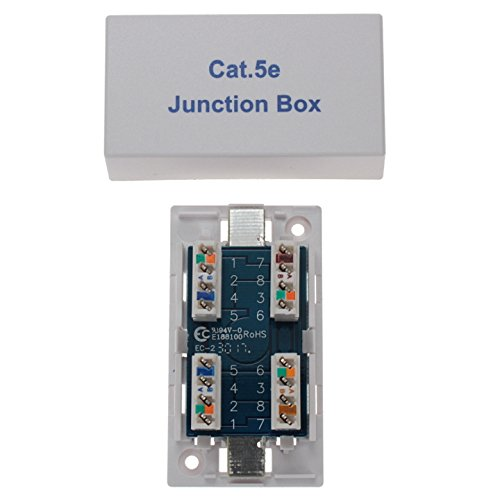(SF Cable RJ45 Cat5e Junction Box, Punch Down)