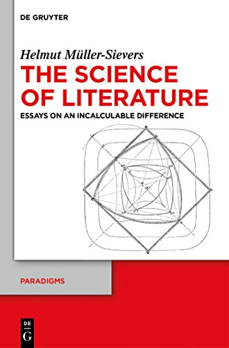 Ordinaire The Science Of Literature: Essays On An Incalculable Difference (Paradigms)  By [Müller