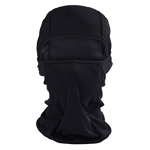 Ezyoutdoor Fashionable Lycra Balaclava Cycling Full Face Mask Fantastic Thin Outdoor Ski Neck Hood ()