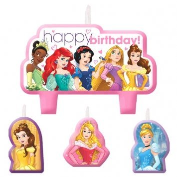 Candle Dreams - Candle Set | Disney Princess Dream Big Collection | Birthday