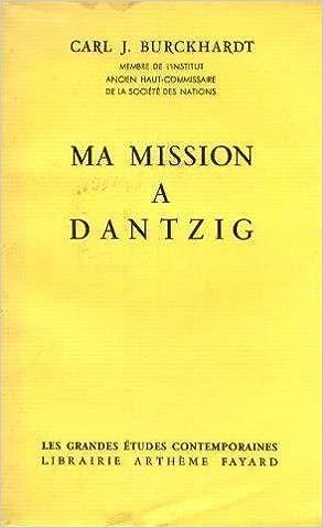 Livres gratuits Ma mission a dantzig pdf
