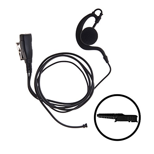Motorola Over Headset Ear The (IMPACT 1-Wire Over the Ear Surveillance Earpiece for Motorola XPR3300 XPR3500 (M17-S1W-EH3))
