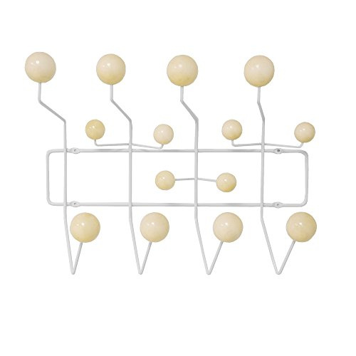 English Antique Outdoor Wall Mount (Mod Made Mid Century Modern Bubble Wall Mounted Coat Rack, Natural)